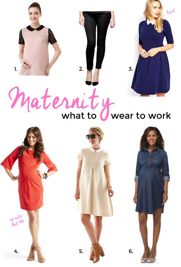 maternity clothes: what to wear to work! (via Burritos and Bubbly)