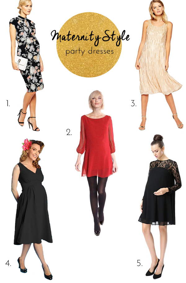 Maternity Style: Party Dresses!