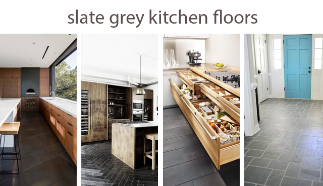 slate kitchen floor ideas
