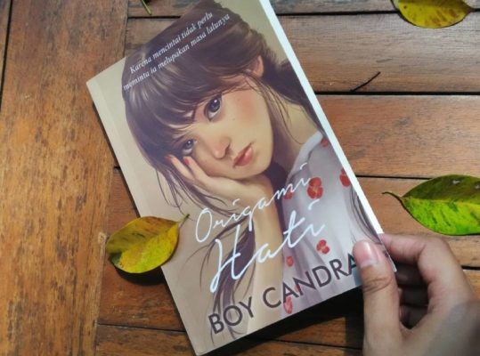 Review Novel Origami Hati Karya Boy Candra 3