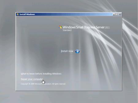 Domain Admin Password Reset in Server2008/Unutulan Domain Admin Şifresinin Resetlenmesi(Server 2008) (1/4)