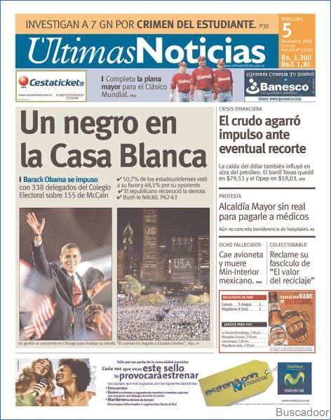 Últimas Noticias, de Venezuela