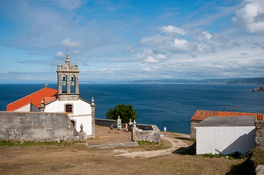 Ermita de San Adrián. rutapor la costa da Morte