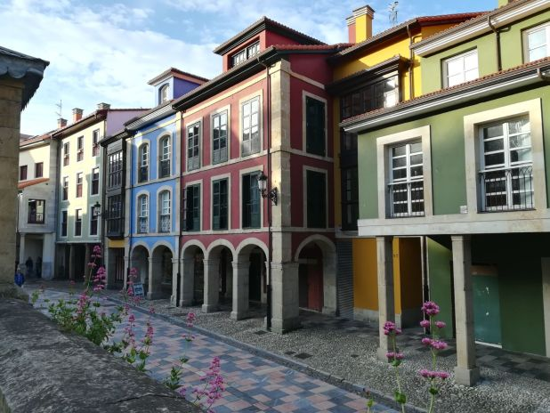 Centro histórico de Áviles