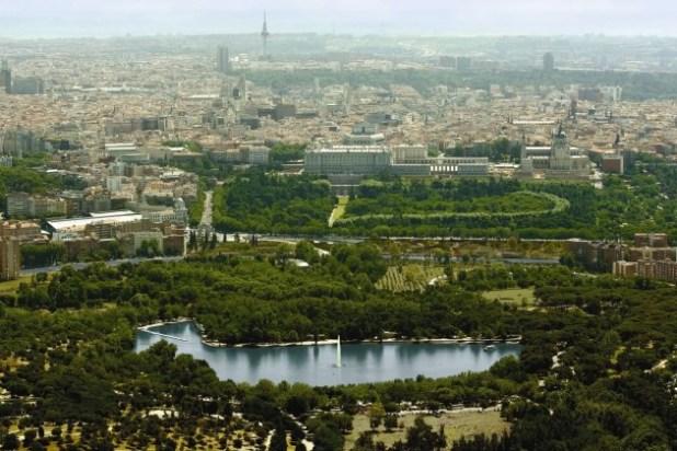 casa campo. Parques de Madrid