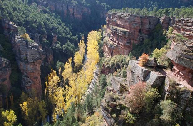 EL Parque Natural del Alto Tajo
