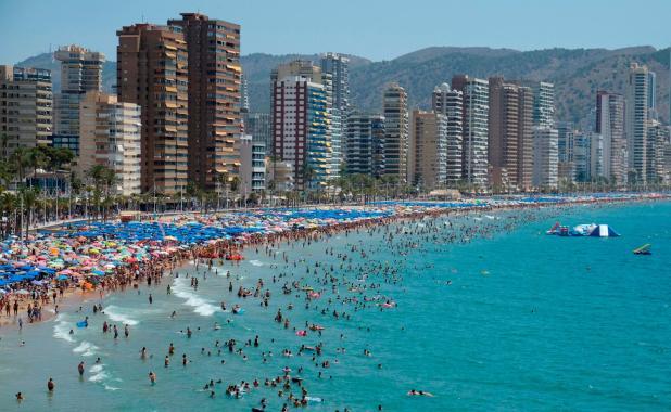 Playas más visitadas
