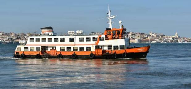 Ruta en Barco por Lisboa