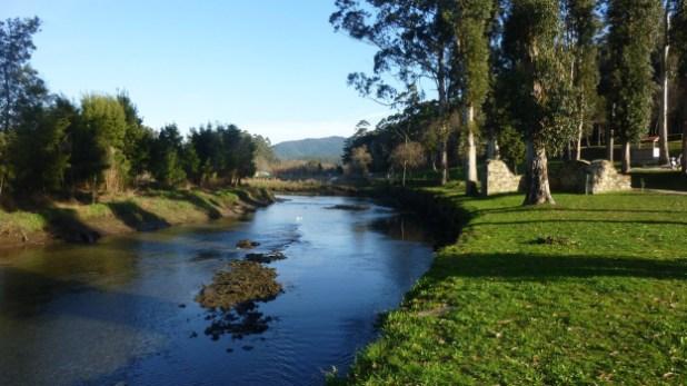 Paseo fluvial del rio Tamuxe