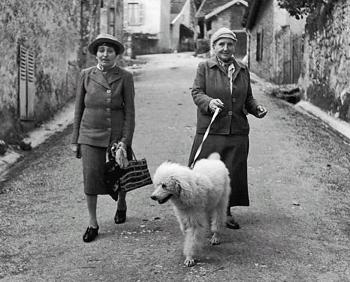 Alice B. Toklas y Gertrude Stein