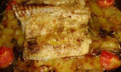 Filetes de merluza al horno