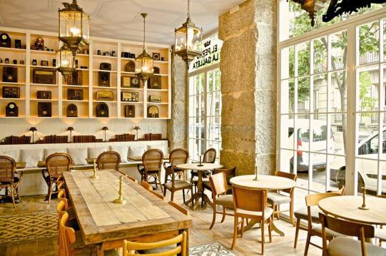 Restaurante El Perro y La Galleta.