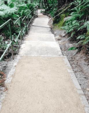 Leura Cascades Track after