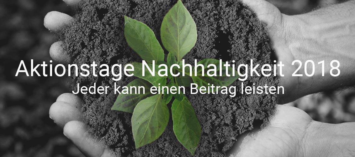 Aktionstag Nachhaltigkeit