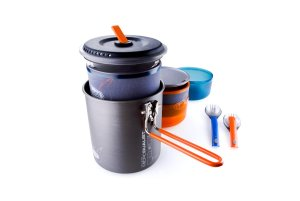 GSI Outdoors Halulite Microdualist Cookset Review