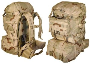 MOLLE II Standard Pack Desert Genuine U.S. Military Review