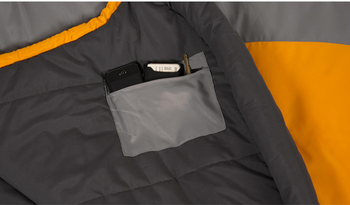 Teton Sports TrailHead +20°F Ultralight Sleeping Bag pocket