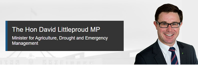 David Littleproud - Minister for Emergency Management