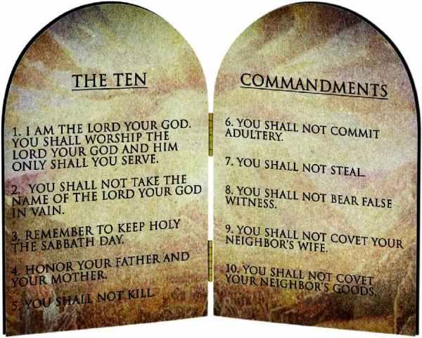 10 commandments of god # 30