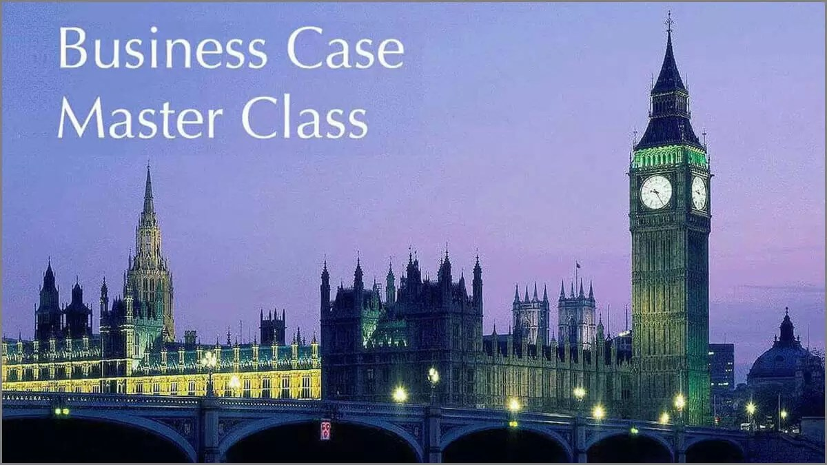 Professional Business Case Seminar, London
