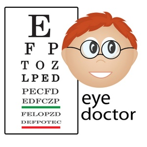 Image result for eye doctor clipart
