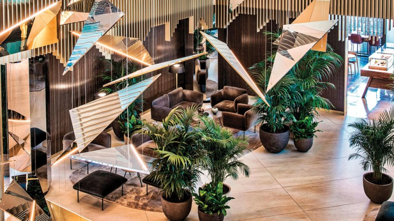5-star Sofia Hotel in Barcelona uses DecoMetal in conceptual redesign