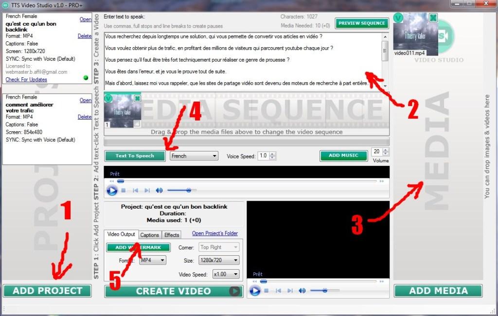 convertir vos articles en vidéo