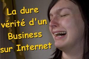 générer un revenu en ligne - la dure réalité