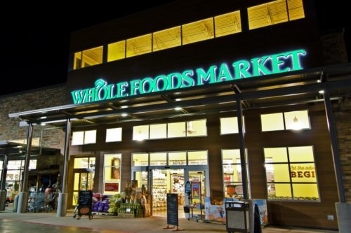 Whole Foods Market Addison store in Texas.