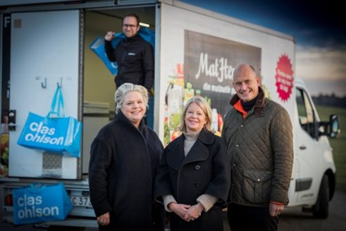 Clas Ohlson to invest in Swedish online grocery store MatHem