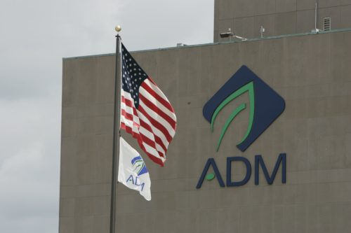 ADM North America HQ in Decatur, Illinois.