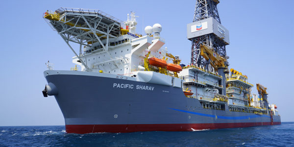 Pacific Drilling's Sharav drillship was used for the drilling of the Ballymore prospect where the Ballymore oil discovery was made.