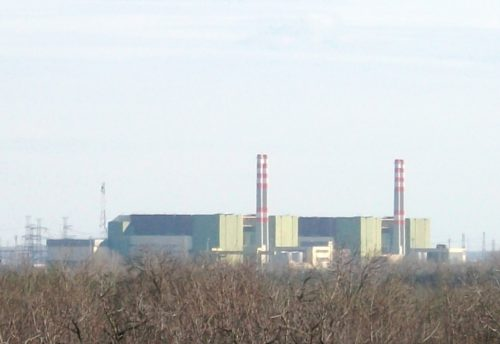 Paks nuclear power plant in Hungary