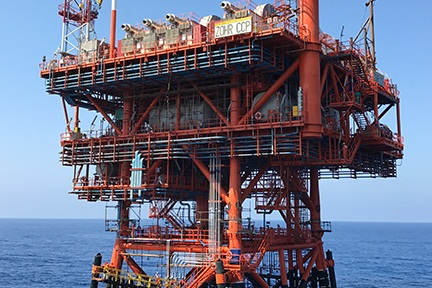 Zohr Gas Project offshore Egypt