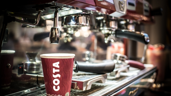 Soft drinks giant Coca-Cola to acquire coffee shop chain Costa from Whitbread for $5.1bn.