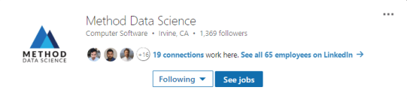 Method Data Science On LinkedIn