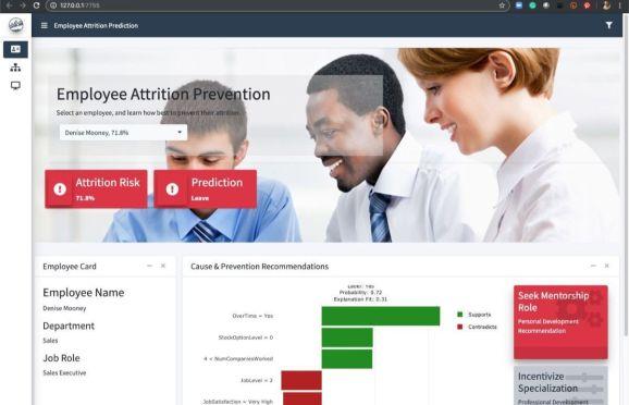 Employee Attrition App