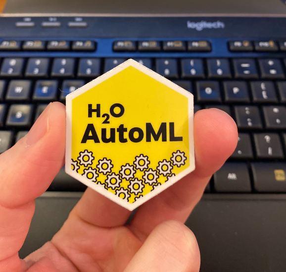H2O AutoML Hex Sticker