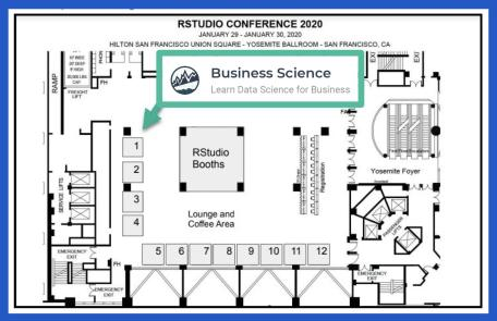 Business Science Booth