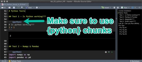 Python Chunks