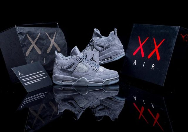 The Nike KAWS x Air Jordan IV - sneakers