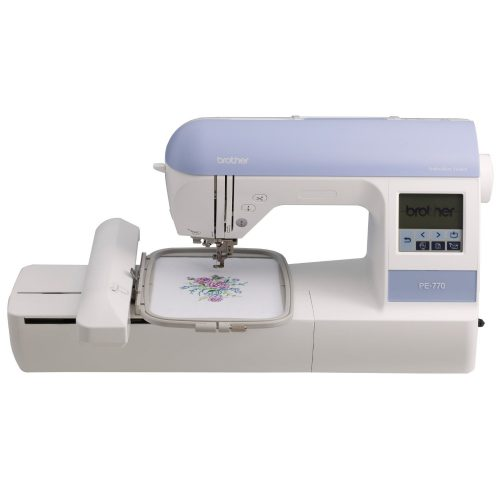 Brother PE770 5x7 inch Embroidery machine with built-in memory - Embroidery Machine