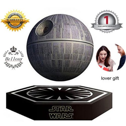 Hellosy Star Wars Death Star Levitating Portable Wireless Bluetooth Speakers - Floating Speakers