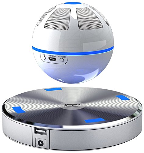 ICE Orb Levitating/Floating Wireless Portable Bluetooth Speaker - Floating Speakers