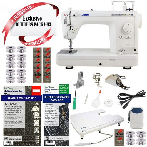 Juki TL2000QI Long-Arm Sewing & Quilting Machine - Embroidery Machine