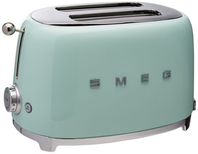 Smeg 2-Slice Toaster-Pastel Green - Slice Toaster