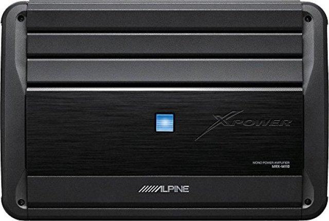Alpine MRX-M110 Monoblock Subwoofer Amplifier - Car Amplifiers