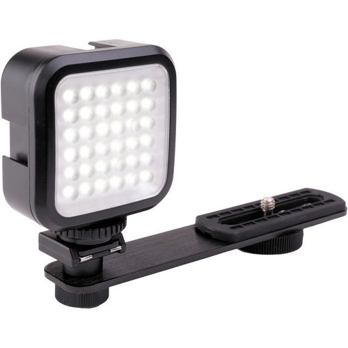 Genaray LED-2100 36 LED Compact On-Camera Light - On-Camera LED Lights