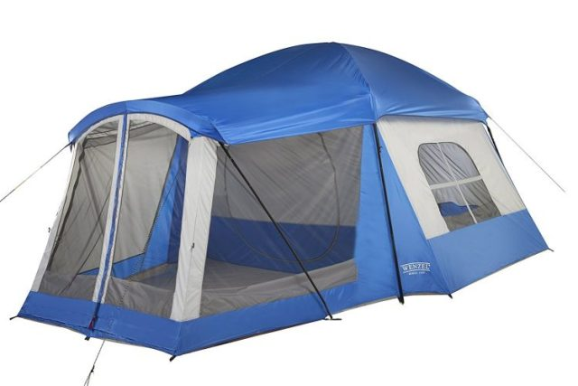 Wenzel 8 Person Klondike Tent - best family tents