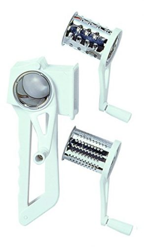 Chef Aid Plastic Rotary Grater Carded - Cheese graters